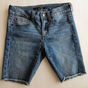 Joe's Jeans Girls Bermuda shorts Frayed hem Sz12